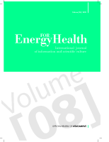 Energy for Health nr 8 (ENG)