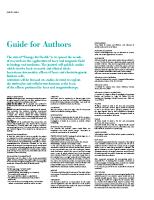 Wytyczne dla autorów artykułów naukowych stworzonych na podstawie badań na urządzeniach ASA Laser